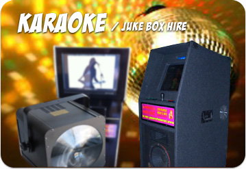 Hire Karaoke Machines & JukeBox